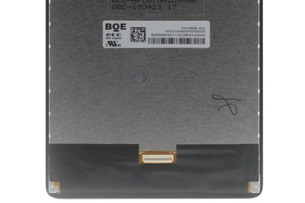 Lenovo Tab M7(TB7305F)フロントパネル ブラック 交換修理 [3]