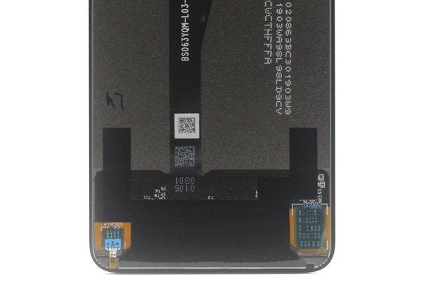 HUAWEI NOVA 5T フロントパネル ブラック 交換修理 [3]