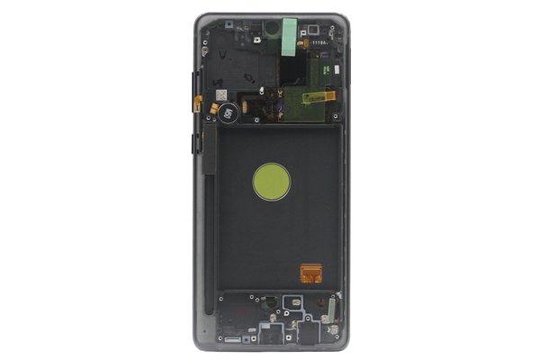 Galaxy Note10 Lite フロントパネルASSY ブラック 交換修理 [2]
