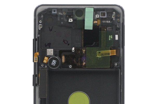 Galaxy Note10 Lite フロントパネルASSY ブラック 交換修理 [3]