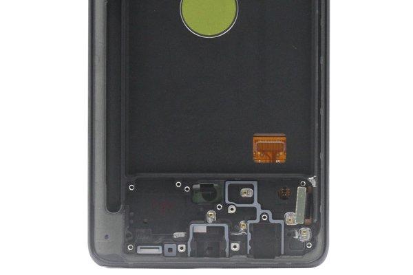 Galaxy Note10 Lite フロントパネルASSY ブラック 交換修理 [4]