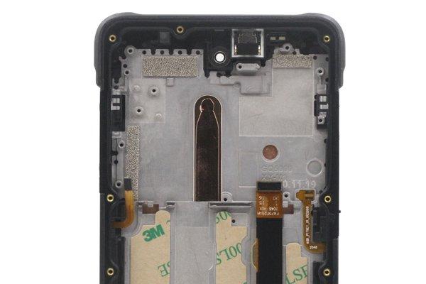 Ulefone Armor10 フロントパネルASSY ブラック 交換修理 [3]