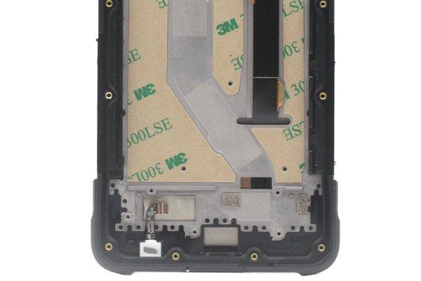 Ulefone Armor10 フロントパネルASSY ブラック 交換修理 [4]