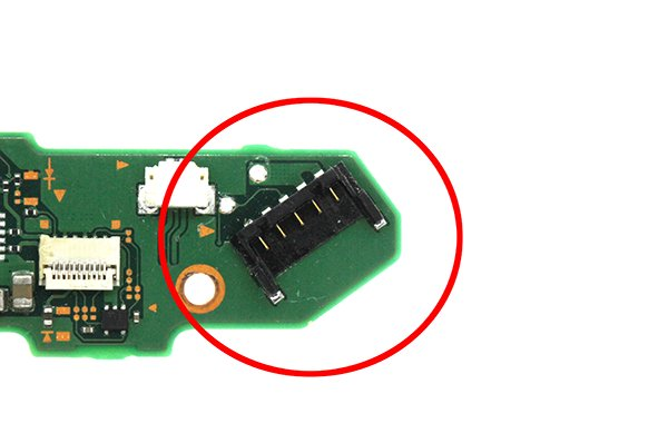 ニンテンドースイッチ バッテリーコネクター交換修理 [1]