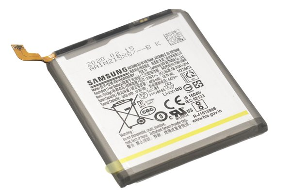 【ネコポス送料無料】Galaxy S20 Ultra 5G(SCG03 SM-G988)バッテリー EB-BG988ABY 5000mAh [4]