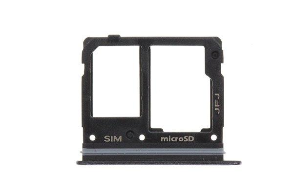 【ネコポス送料無料】Galaxy A41(SCV48)SIMカードトレイ ブラック [1]