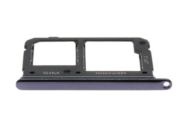 【ネコポス送料無料】Galaxy A41(SCV48)SIMカードトレイ ブラック [3]
