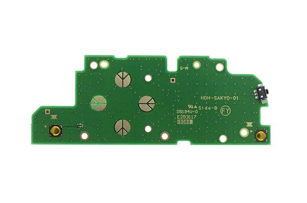 【ネコポス送料無料】ニンテンドースイッチライト サイドボード 左キー バックライト 電源 音量 [2]
