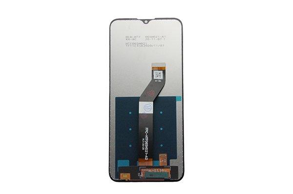 Motorola Moto G8 Power Lite フロントパネル交換修理 ブラック [2]