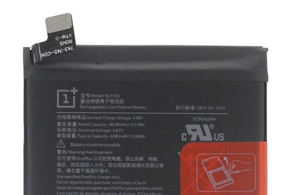 Oneplus7T Pro バッテリー BLP745 交換修理 [3]