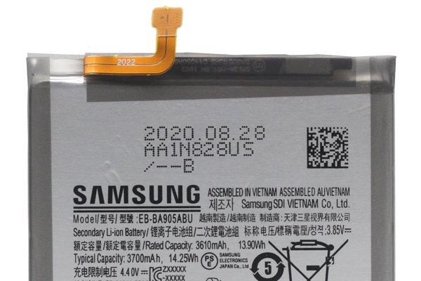 【ネコポス送料無料】Galaxy A80(SM-A805F)A90(SM-A905F)バッテリー EB-BA905ABU [3]