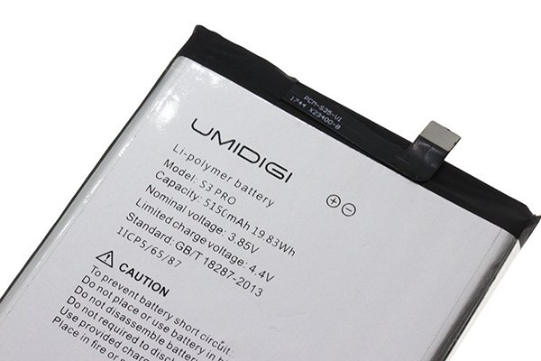 UMIDIGI S3 Pro バッテリー交換修理 [3]