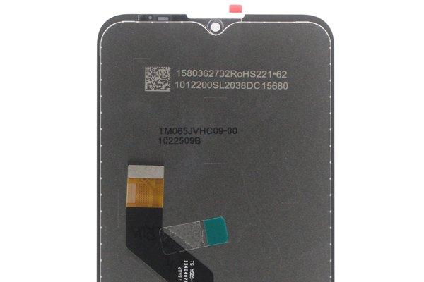 Motorola Moto G9 Play フロントパネル交換修理 ブラック [3]