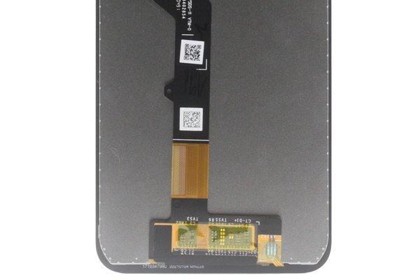 Motorola Moto G9 Play フロントパネル交換修理 ブラック [4]