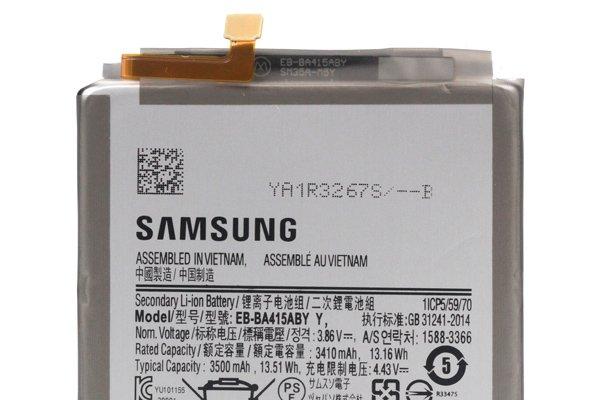 Galaxy A41(SM-A415F)バッテリー交換修理 [3]