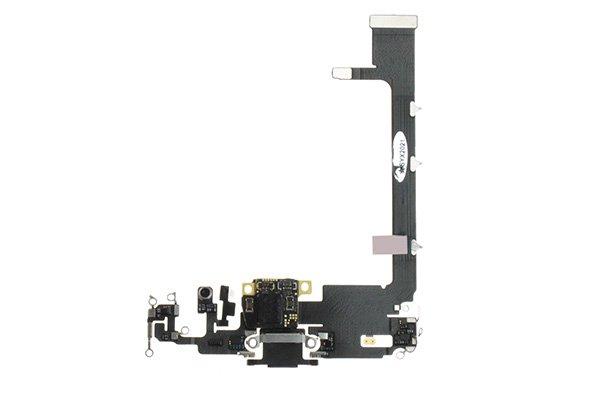 【ネコポス送料無料】iPhone 11 Pro Max ライトニングコネクターケーブル ブラック [1]
