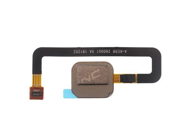 【ネコポス送料無料】Zenfone6(ZS630KL)指紋センサーケーブル ブラック [2]