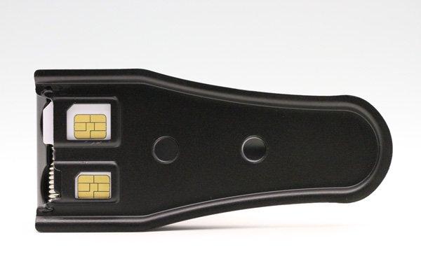 マイクロSIMやNano SIM のカタチに簡単カットデュアルSIMカッター 全2色 [7]