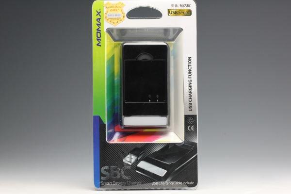 充電器も使える MOMAX バッテリーチャージャー for XPERIA X10 mini pro BST-38 [1]