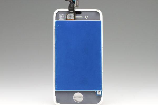 Apple iPhone4 フロントパネルASSY ホワイト 動作確認済み [2]