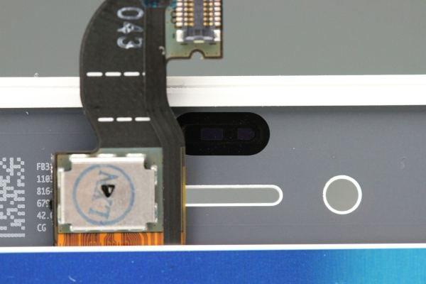 Apple iPhone4 フロントパネルASSY ホワイト 動作確認済み [4]