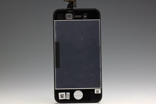 Apple iPhone4 フロントパネルASSY ブラック  [2]