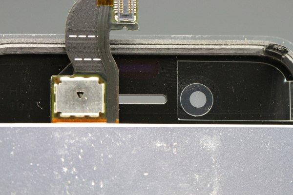 Apple iPhone4 フロントパネルASSY ブラック  [3]