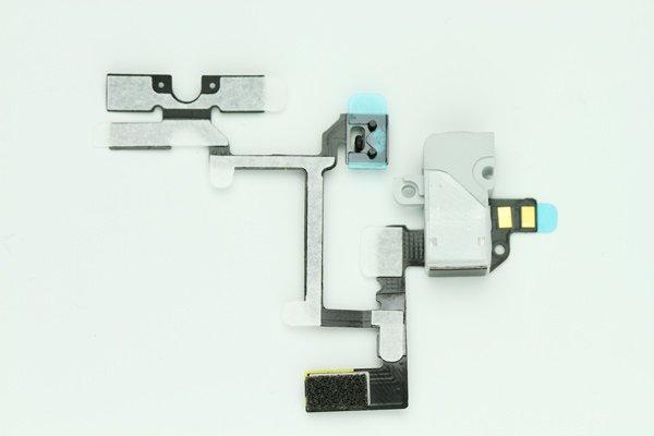 【ネコポス送料無料】Apple iPhone4 ヘッドフォンフレックスケーブル 2色あります  [1]