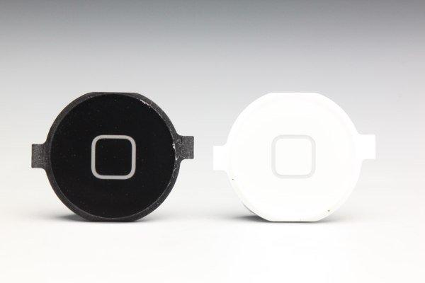 【ネコポス送料無料】Apple iPhone4 ホームボタンセット 2色あります  [1]