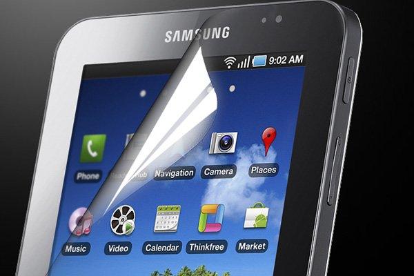 【ネコポス送料無料】CAPDASE製 液晶保護フィルム for SAMSUNG Galaxy Tab P1000 SC-01C 2種類あります  [3]