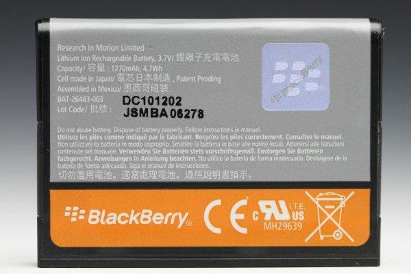 【ネコポス送料無料】BlackBerry Torch 9800 9810 バッテリ F-S1 新品未使用  [2]