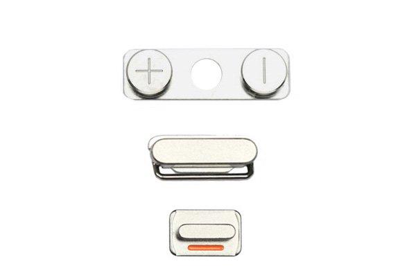【ネコポス送料無料】Apple iPhone4S ボリューム マナー スリープボタンセット  [1]