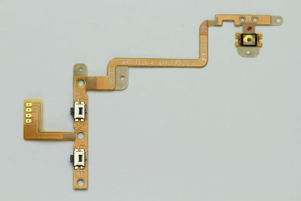 Apple ipod Touch(4) ボリューム&スリープボタンケーブルASSY