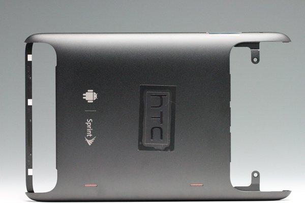 【ネコポス送料無料】HTC Flyer バックカバー ブラック Sprint仕様  [1]