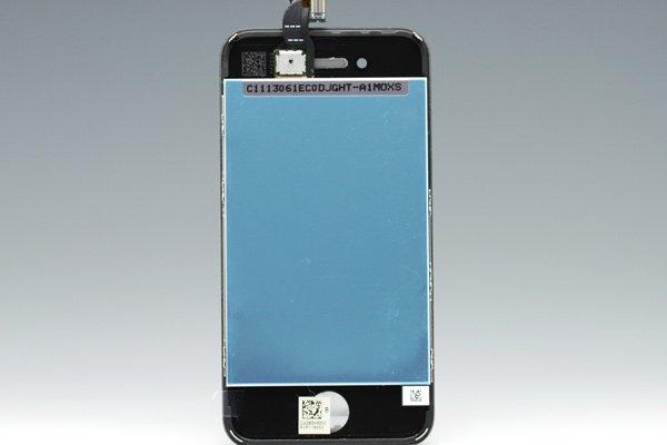 Apple iPhone4S フロントパネルASSY ブラック [2]