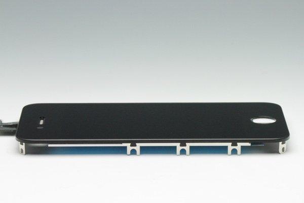 Apple iPhone4S フロントパネルASSY ブラック [3]