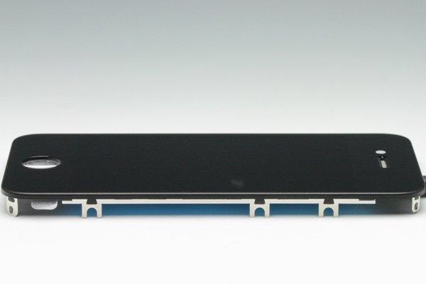 Apple iPhone4S フロントパネルASSY ブラック [4]