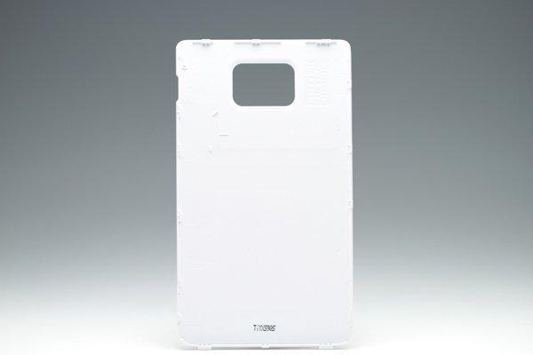 【ネコポス送料無料】レアカラーSAMSUNG Galaxy S2 GT-I9100 交換セット ホワイト  [3]