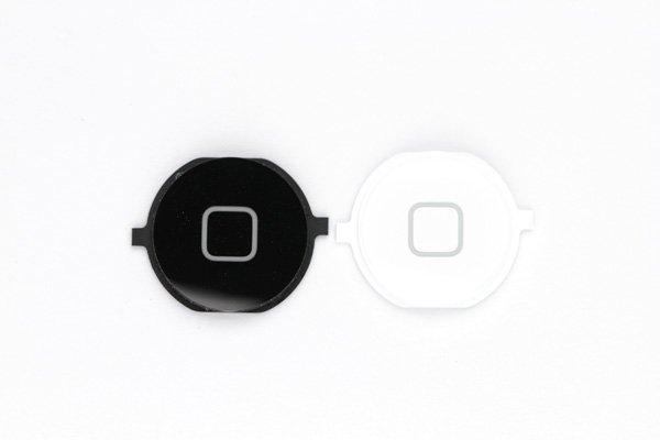 【ネコポス送料無料】Apple iPhone4S ホームボタン 2色あります  [1]