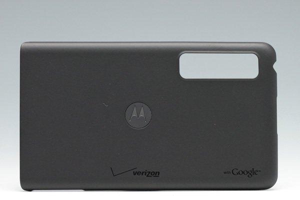 【ネコポス送料無料】MOTOROLA Droid3 (XT883) バッテリーカバー ブラック Verizon仕様  [1]