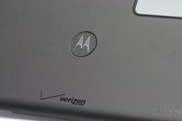 【ネコポス送料無料】MOTOROLA Droid3 (XT883) バッテリーカバー ブラック Verizon仕様  [3]