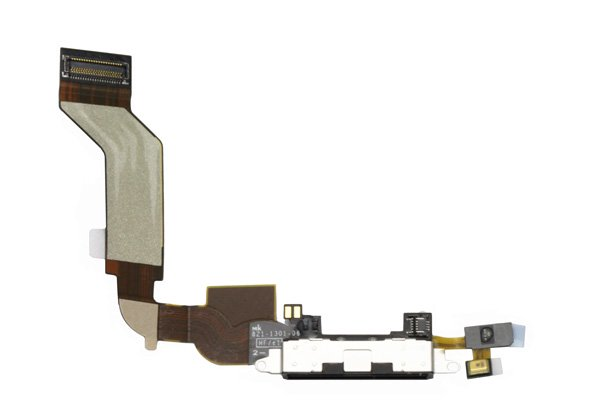 【ネコポス送料無料】Apple iPhone4S ドックコネクタケーブル ブラック  [1]