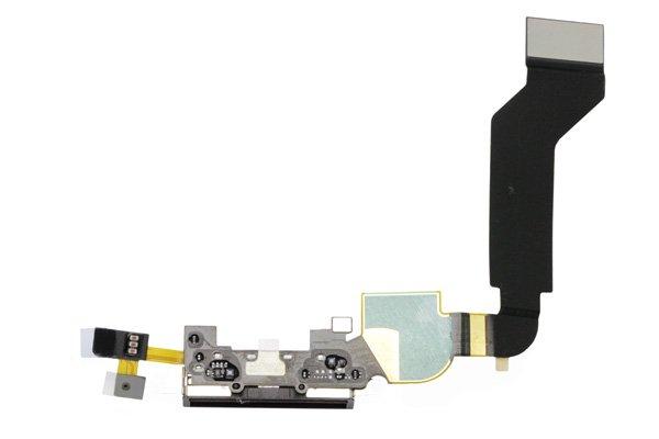 【ネコポス送料無料】Apple iPhone4S ドックコネクタケーブル ブラック  [2]