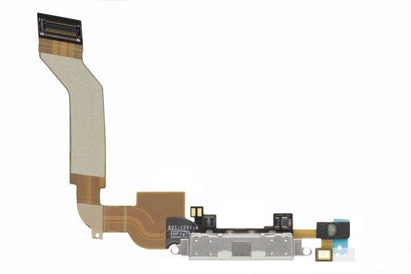 【ネコポス送料無料】Apple iPhone4S ドックコネクタケーブル ホワイト  [1]
