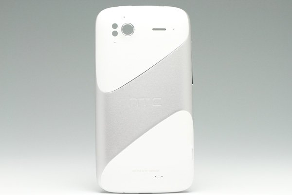 【ネコポス送料無料】HTC Sensation バッテリーカバーセット ホワイト  [1]