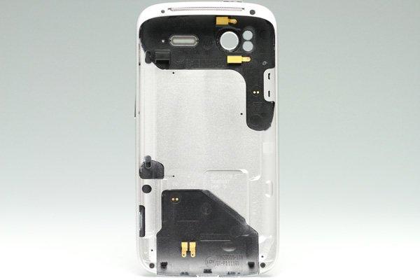 【ネコポス送料無料】HTC Sensation バッテリーカバーセット ホワイト  [2]