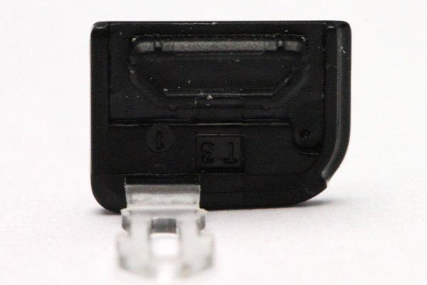 【ネコポス送料無料】Xperia arc docomo SO-01C HDMIカバー シルバー  [2]