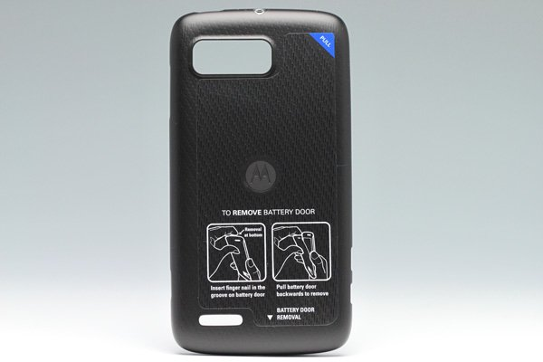 【ネコポス送料無料】MOTOROLA ATRIX2 (ME865) バッテリーカバー  [1]