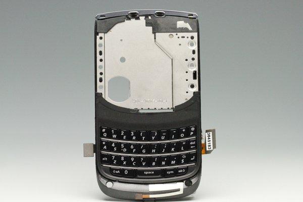 【ネコポス送料無料】Blackberry torch 9810 ミドルケースASSY ブラック  [1]