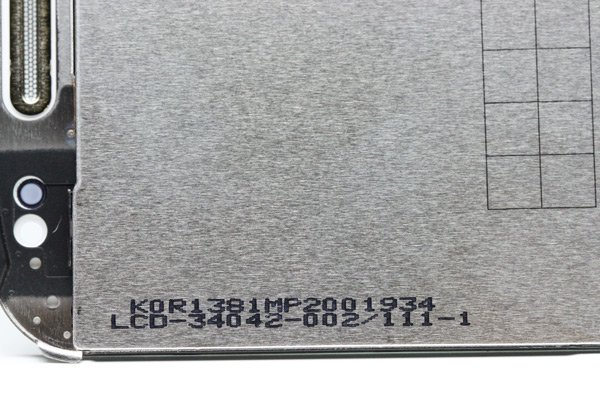 Blackberry bold 9900 液晶ASSY ホワイト 002  [3]